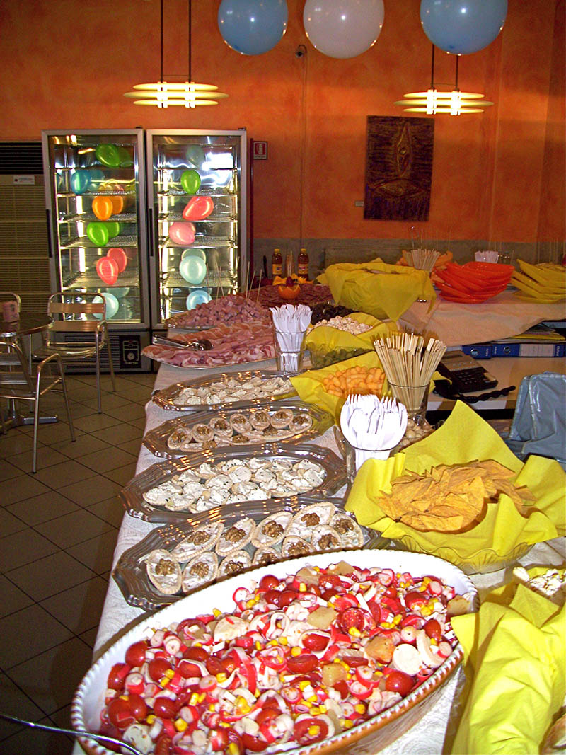 Gelateria Colombo Inveruno buffet